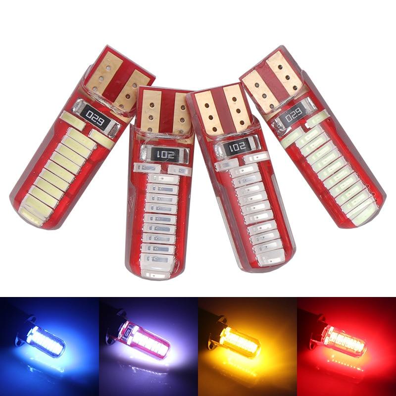 T10 Silikon Gel Drop Kristall Breite Lampe 4014 Hohe Helligkeit LED Kleine Lampe Lizenz Platte Lampe 24 Lampe Silikon