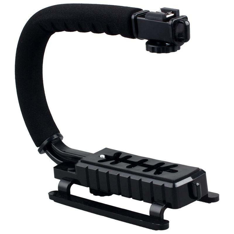 ABGN caliente-Pro estabilizador c-shape Bracket Video Handheld Grip apto para videocámara cámara DSLR