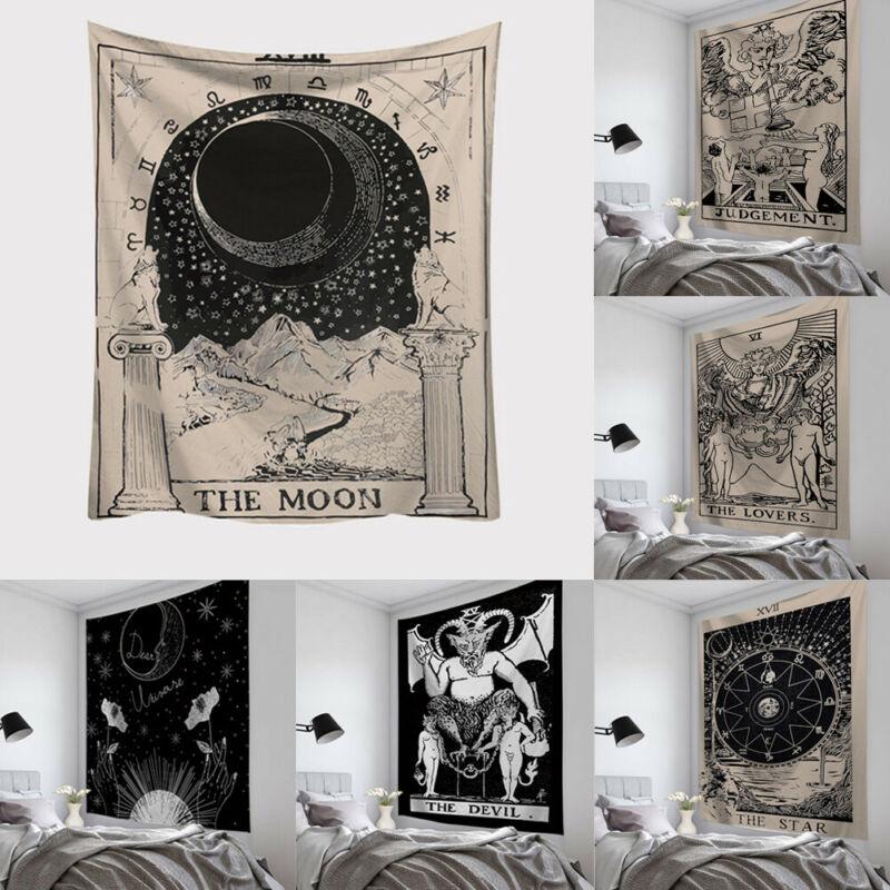 2020 HEIßER Verkauf Wandteppich Hängen Polyester Tarot Karte Muster Decke Tapisserie Wohnkultur Hohe Qualität
