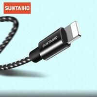 USB-кабель для зарядки и передачи данных, нейлоновый, 25 см, 100 см, 2/3 м, для iPhone X, 8, 7, 6 s, 6 s Plus, Xs Max, XR, 5, 5s, SE
