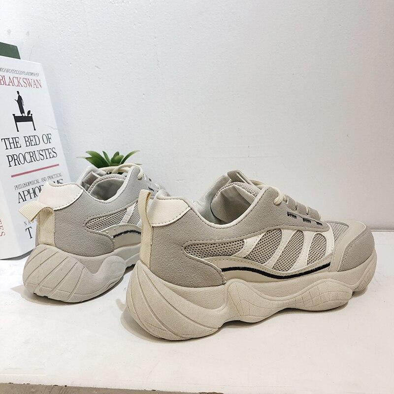 Zapatillas de deporte vulcanizadas para Mujer, zapatos planos informales a la moda,...