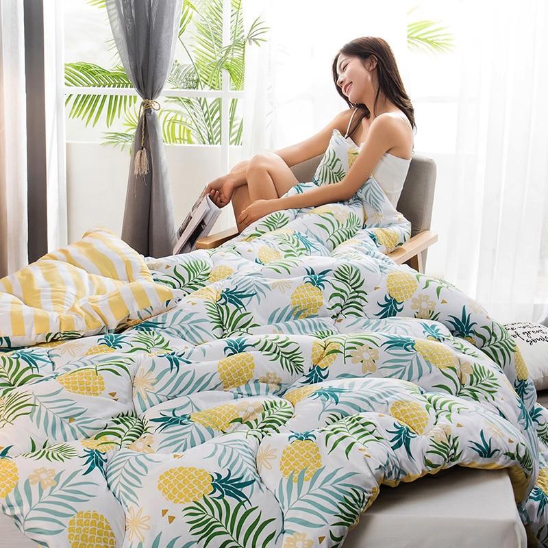 عالية الجودة ستوكات ملء المعزي لحاف قابل للغسل متعدد الألوان اختيار فندق المنزل لحاف بطانية جميع الموسم أسفل لحاف أفخم