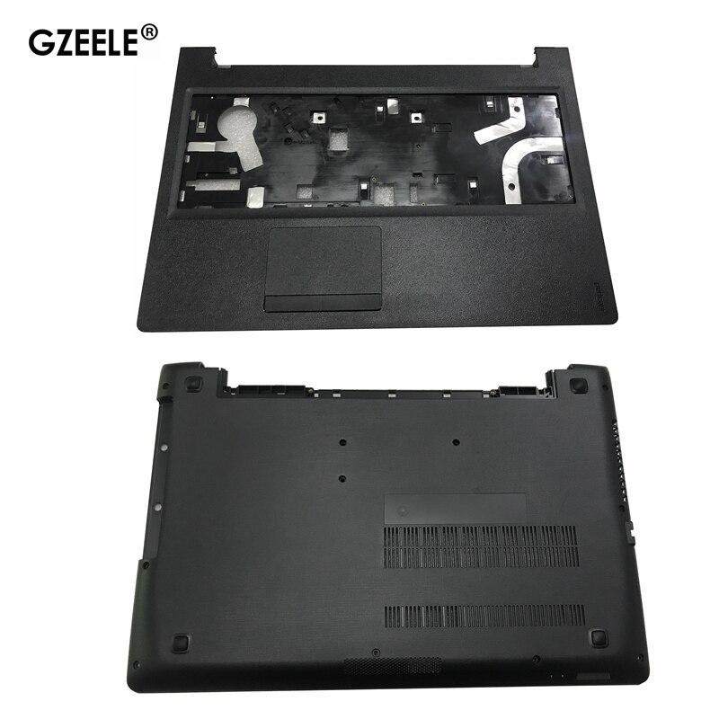 Novo para lenovo ideapad 110-15 110-15isk palmrest capa ap1nt000210/portátil inferior base caso capa ap1nt000100