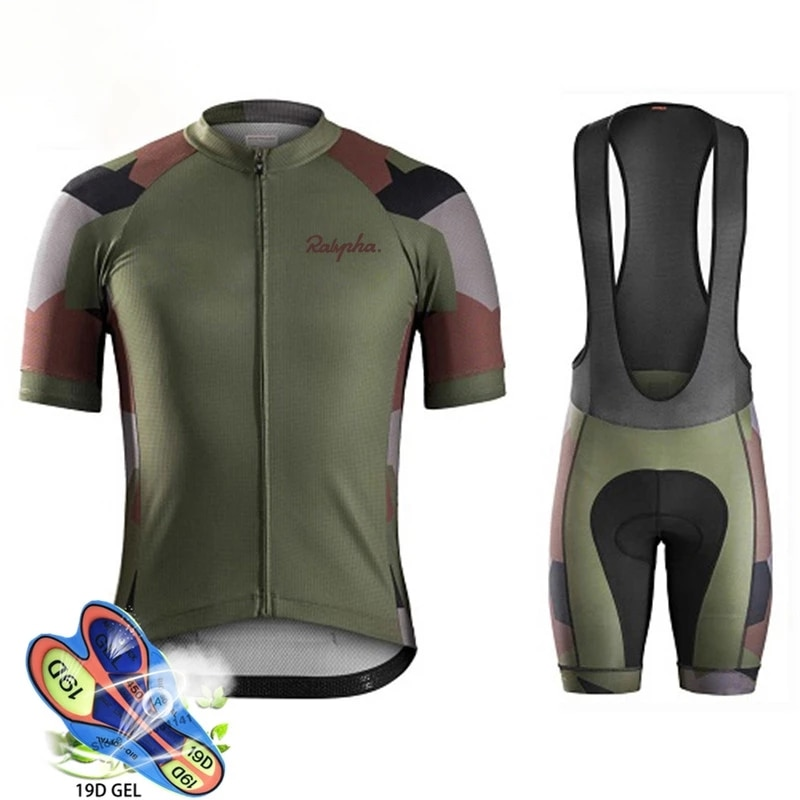 Raudax-Conjunto de camisetas de Ciclismo transpirables para Summer Ropa para Ciclismo de...