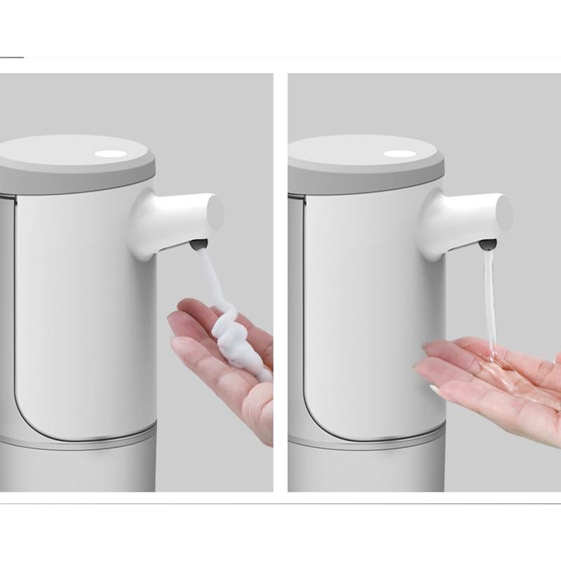 Автоматический диспенсер для мыла 450 мл, безупречный Пенящийся диспенсер для мыла, зарядка через USB, Электрический Дозатор для мыла