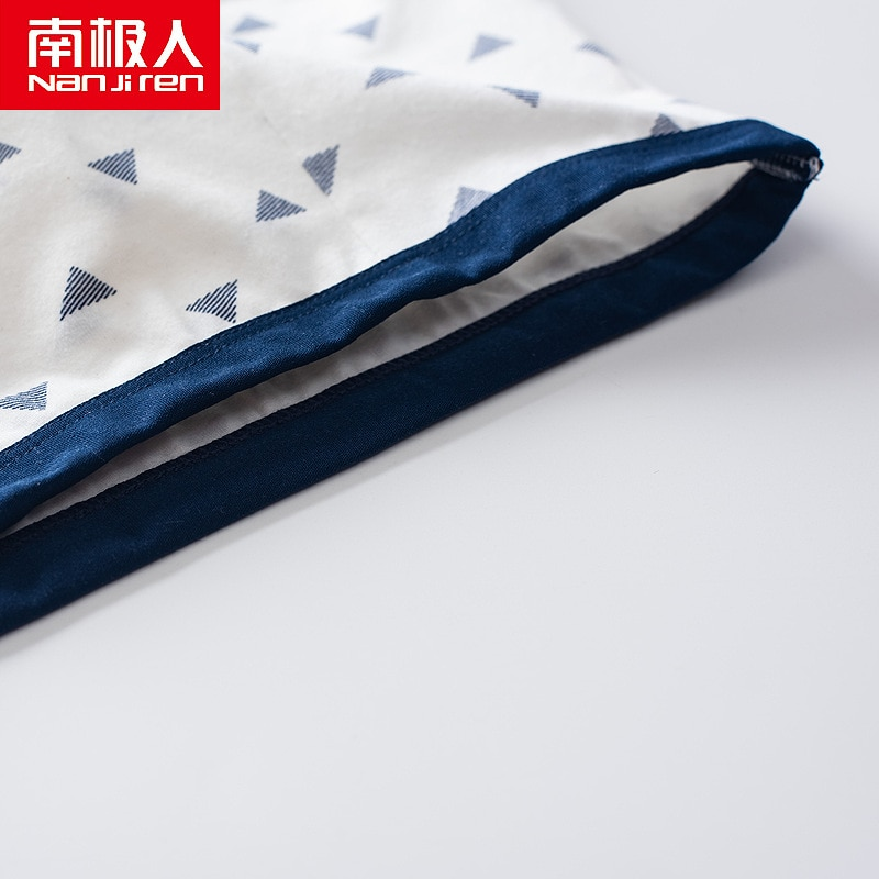 Купить с кэшбэком Nanjiren Baby Underwear Children Clothing Cotton Print Casual Comfortable Solid Color Boxer Briefs For Baby Boys Girls 4 Pack