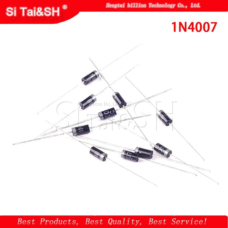 100PCS 1N4007 4007 1A 1000V DO-41 High quality Rectifier Diode