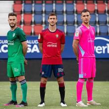new 2122 Osasuna kids adult kit shirt Centenary 2021 2022 Chimy Ávila R.Torres Rubén García Estup