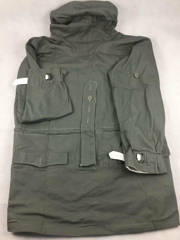 WWII Ejército alemán ratón gris y blanco REVERSIBLE SMOCK WW2 uniforme militar recreación de guerra
