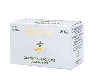 Organic Natural Olive Leaf Tea Bags 20-Pcies 30gr