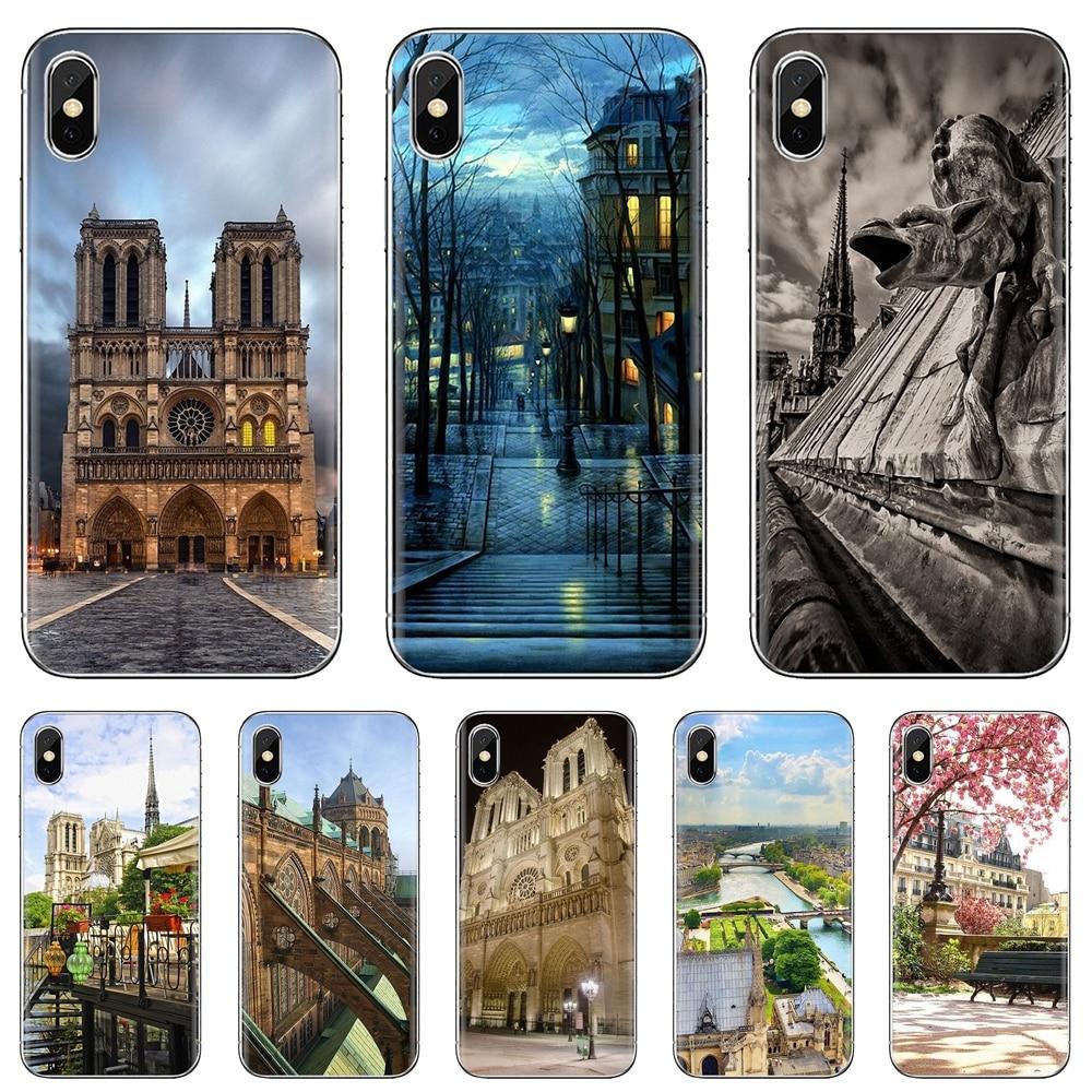 Maior caixa de telefone de silicone para meizu m6 m5 m6s m5s m2 m3 m3s nota mx6 m6t 6 5 pro mais catedral u20 de notre-dame em paris
