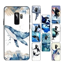 killer whale phone case for samsung galaxy s20lite s21 s21ultra s20 s20plus for samsungs21plus 20ultra capa