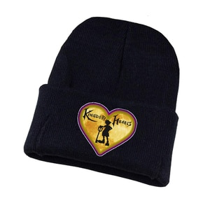 Anime Kingdom Hearts Knitted Hat Cosplay Hat Unisex Print Adult Casual Cotton Hat Teenagers Winter Knitted Cap
