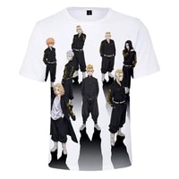 2021 summer new mens tshirt casual t shirt japanese wind animation 3d printing comfortable cool breathable short sleeve tshirt