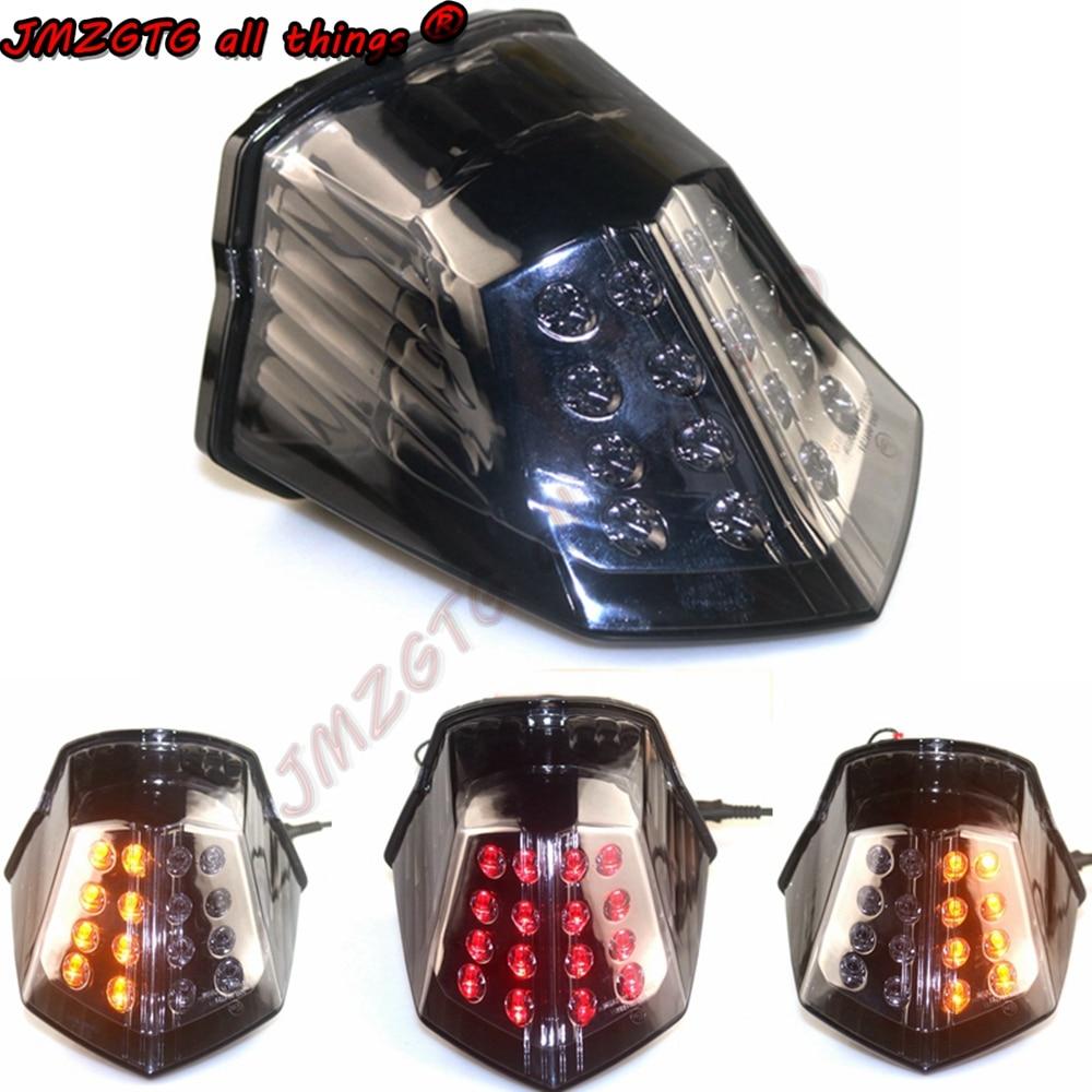 مصباح إضاءة خلفي لإشارة الانعطاف للدراجات النارية من ياماها XJ6 FZ6 تحويل 600 2009 2010 2011 2012 2013 2014