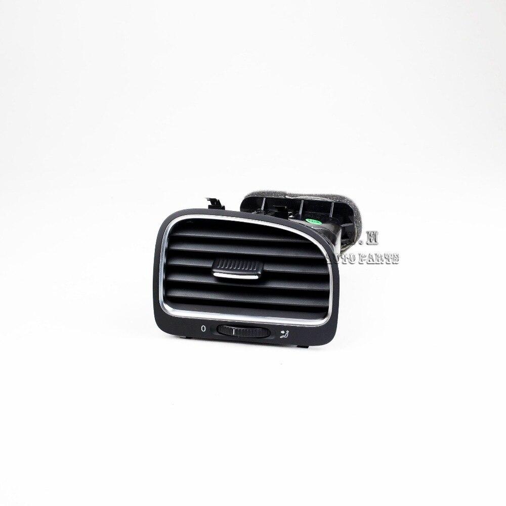 NEW Black Right Front Side Dash Dashboard Air Outlet Vent 5K0 819 704 J For VW Golf GTI Variant 6 MK6 5K0 819 704 K