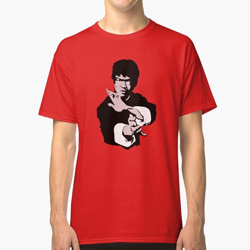 Bruce Lee On His Famous Kung-Fu Jet Kune Do Pose, Artwork, Tshirts, Prints, Posters, Bags, Men, Women, Kids T shirt bruce lee