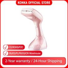 KONKA Steamer portatile 1500W potente indumento Steamer portatile 15 secondi ferro da stiro a vapore a calore rapido per viaggi domestici
