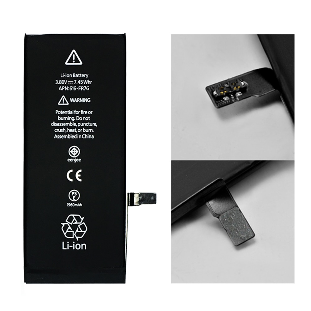 10pcs/lot 0 cycles Battery For Apple 6S 6 7 8 Plus 5S 5 SE 6Plus 7Plus X XS 11 Pro Max Replacement Bateria For iPhone 6S 7 enlarge