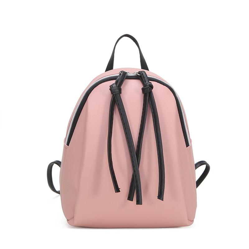 Новый женский маленький рюкзак, женская кожаная сумка через плечо, многофункциональные мини рюкзаки, Женский Школьный рюкзак, сумка для девочек-подростков 2020