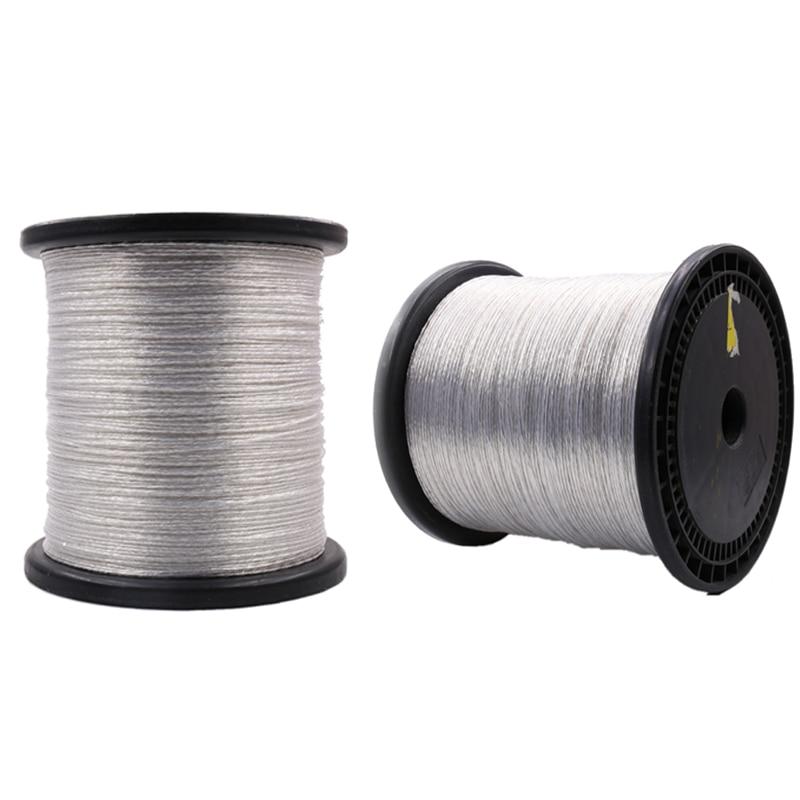 8N cobre de pureza plateado 8N OCC Cable de interconexión DIY Cable de Audio a granel vendido por metro