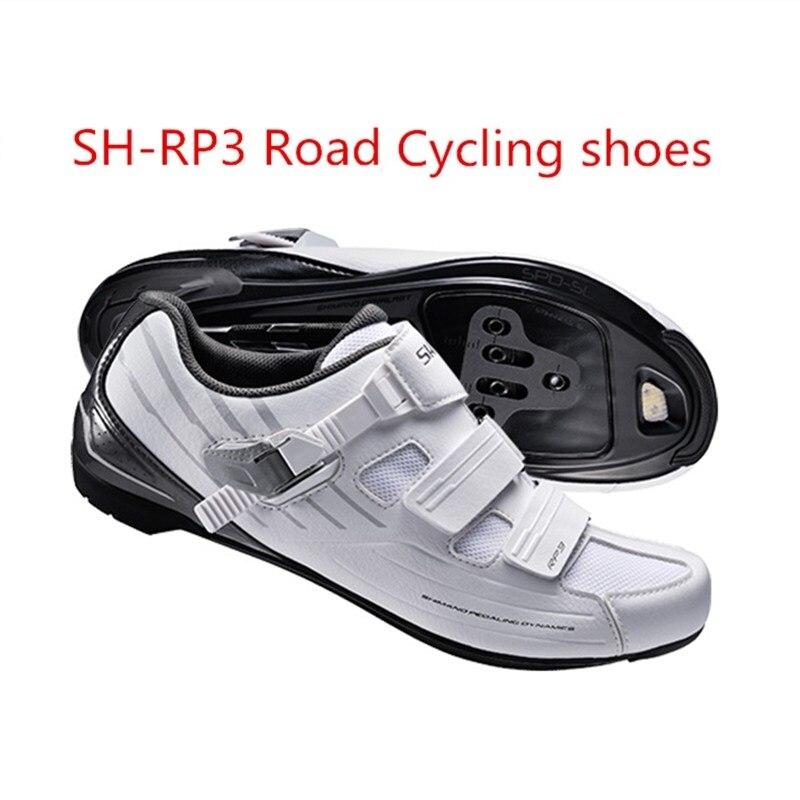 Bicicleta de carretera Dynalast ciclismo bicicleta hombres y mujeres bloqueo Zapatos blanco y negro
