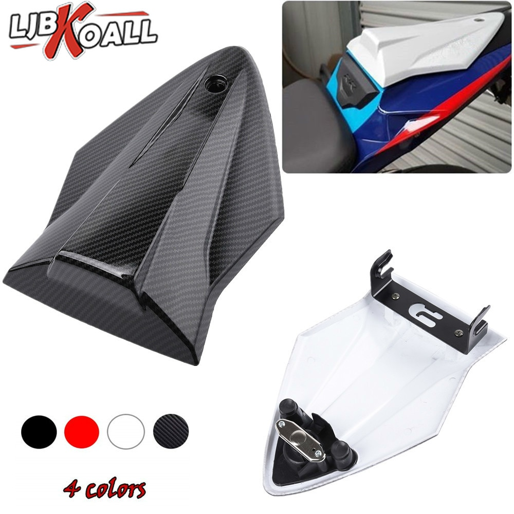 Motorcycle Rear Seat Cover Tail Section Motorbike Fairing Cowl For BMW S1000RR HP4 S1000 RR S1000R 2014 2015 2016 2017 2018 2019