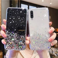 for samsung galaxy a7 2018 case bling glitter phone cover samsung a7 2018 s21 ultra plus a52 a72 a51 a71 a70 a50 a12 a21s cases