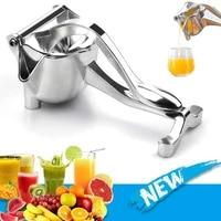 manual juicer extractor squeezer aluminum alloy hand pressure juicer pomegranate lemon sugar cane juice fresh fruit juicers