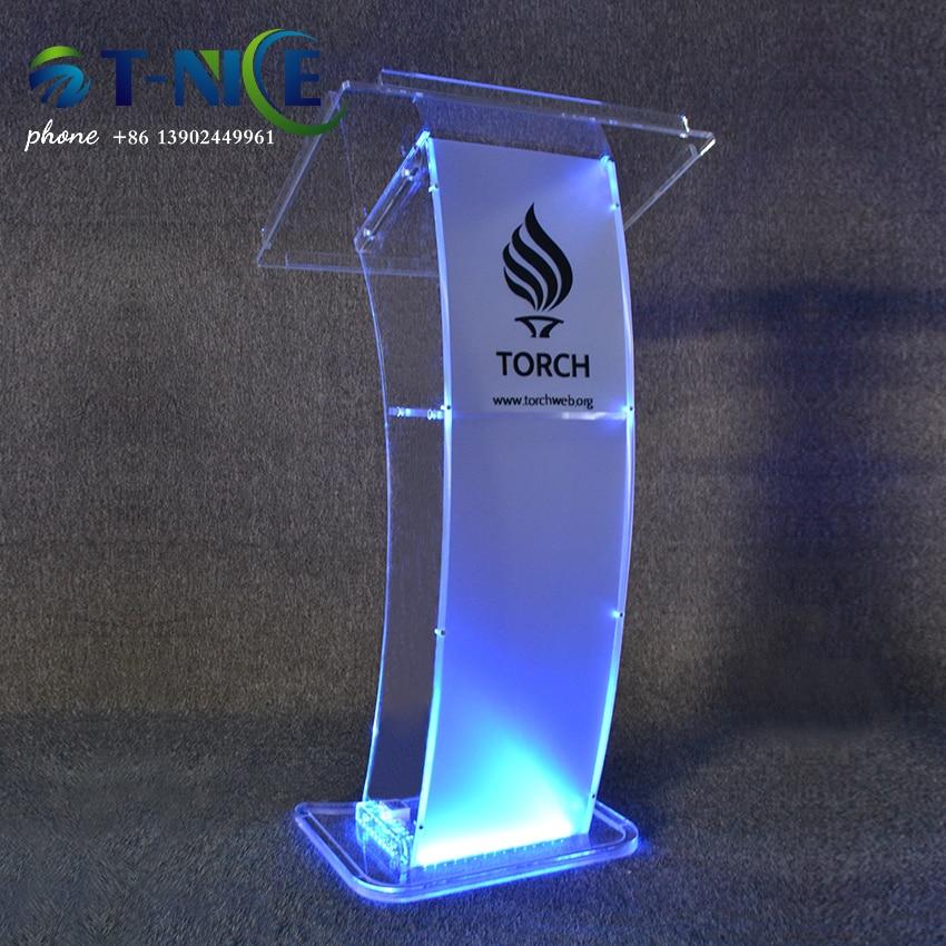 AKLIKE-منصة تصميم سطح منحني مثالية ، منصة أكريليك شفافة ، سطح مكتب ، 2021