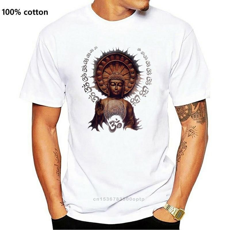 Мужская футболка Ом АУМ yogaдрессировка Будды чакра медитация Индия дзен Хобо бохо мир футболка C1 7 короткий рукав смешной дизайн|Футболки| | АлиЭкспресс
