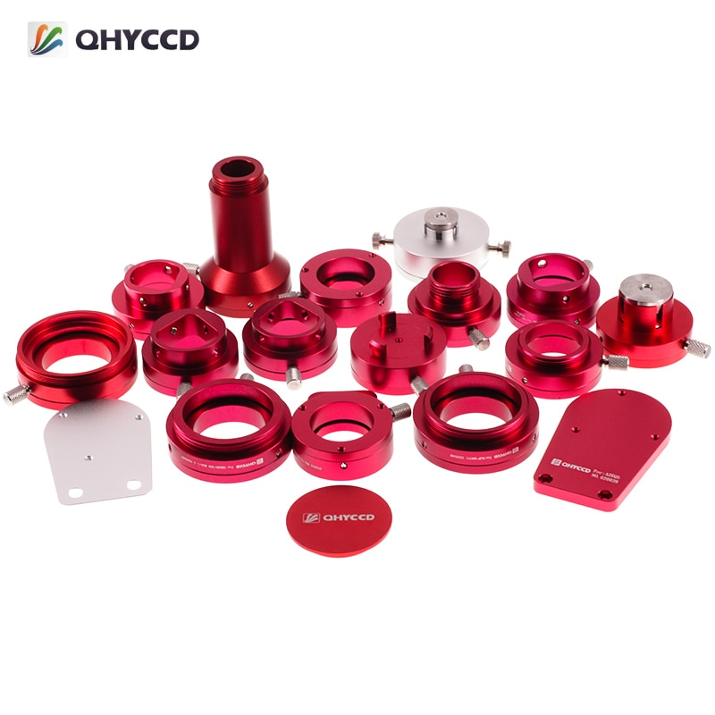 Qhy Polemaster Adapter Voor CEGM,EQ6,Tak,AP900,AVX,MX,AT,HEQ5,EM11,IEQ30,IEQ45,SXD2,SX-4,EM200