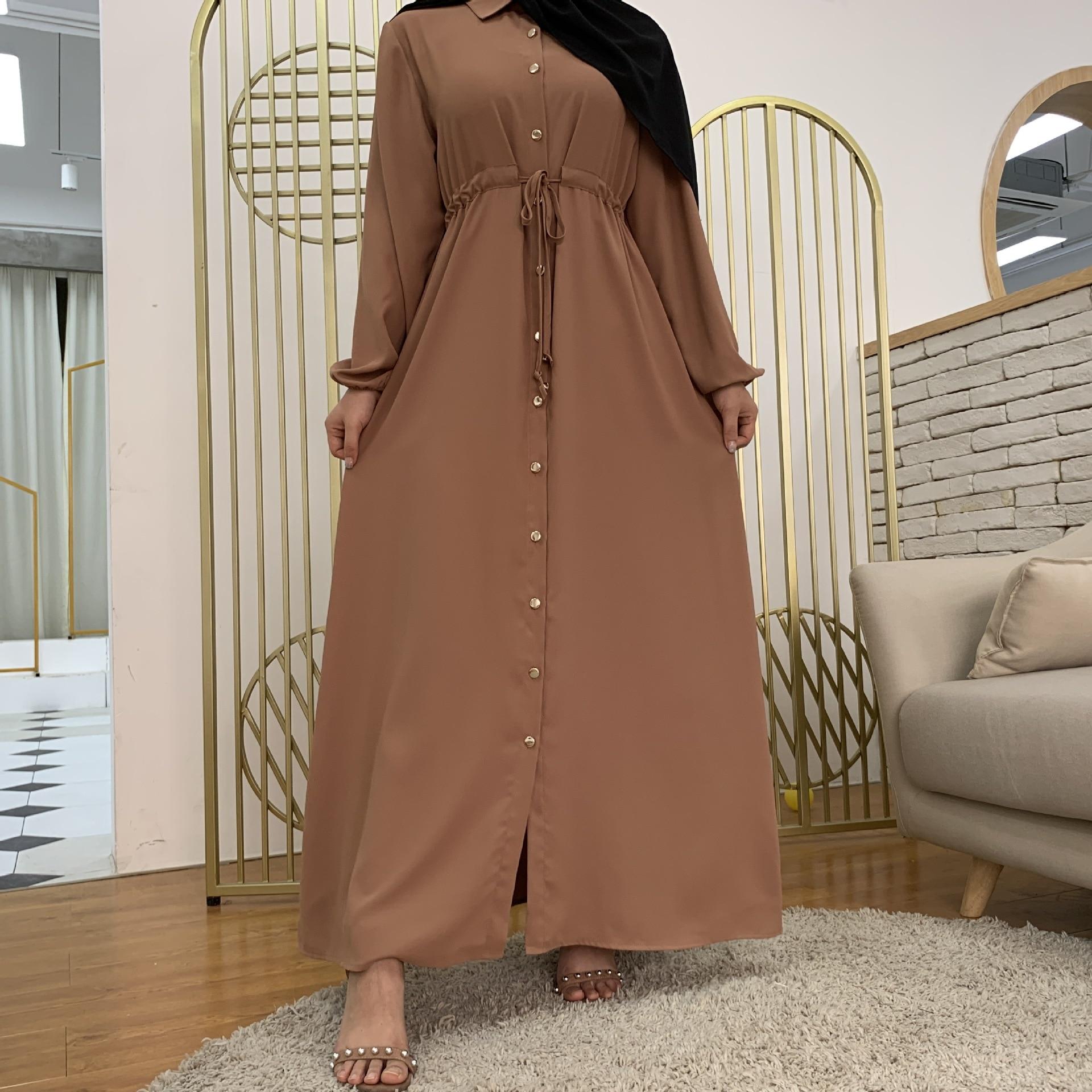 2021 المرأة دبي عباية تركيا مسلم موضة الحجاب فستان طويل التلبيب قفطان الإسلام الملابس الأفريقية ماكسي فساتين للنساء رداء