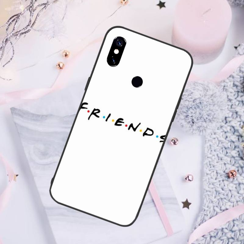 Friends TV Show Characters Phone Case For Xiaomi Redmi note 7 8 9 pro 8T 9S Mi Note 10 Lite pro  - buy with discount