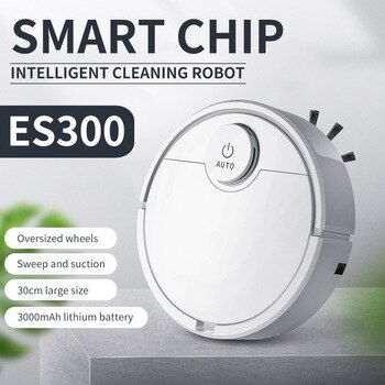 The home uses the artificial intelligence to sweep the floor the robot to sweep the floor automatically vacuuming, the lazy pers