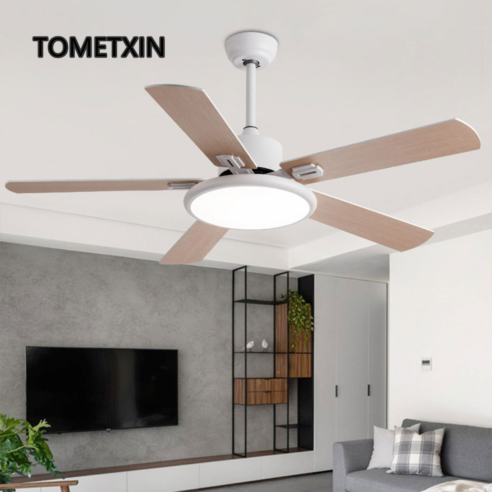 52 дюйма потолочный вентилятор с светильник деревянные вентиляторы светильник s дистанционный пульт для домашнего декора гостиной деревянн...