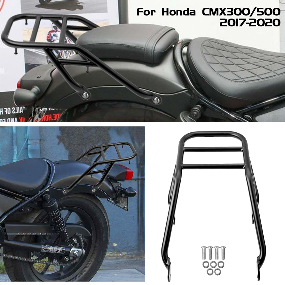 Motocyle-رف أمتعة خلفي لـ Honda Rebel CMX 300 500 CMX300 CMX500 2017-2021 2018 2019