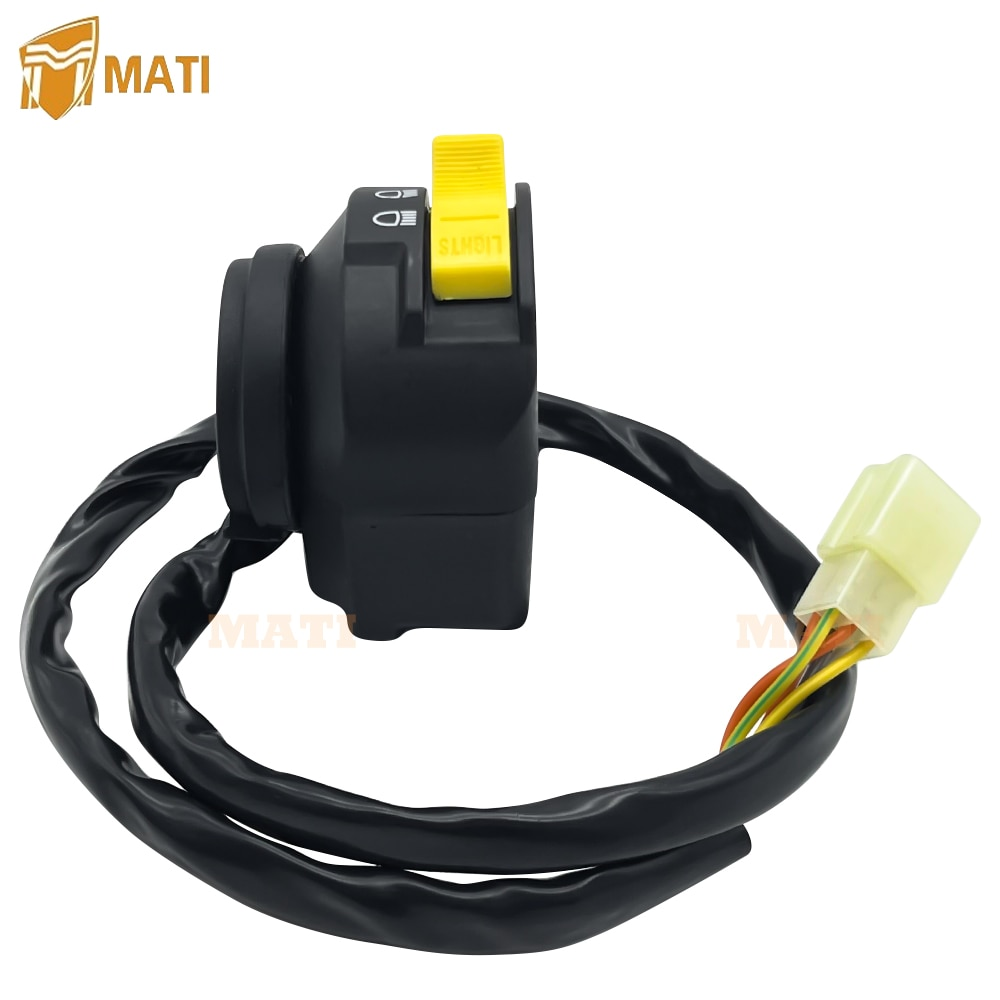 Left Handlebar Switch Start Stop Headlight for ATV Arctic Cat 400 500 700 Manual Transmission Diesel 0409-083 0509-013 enlarge