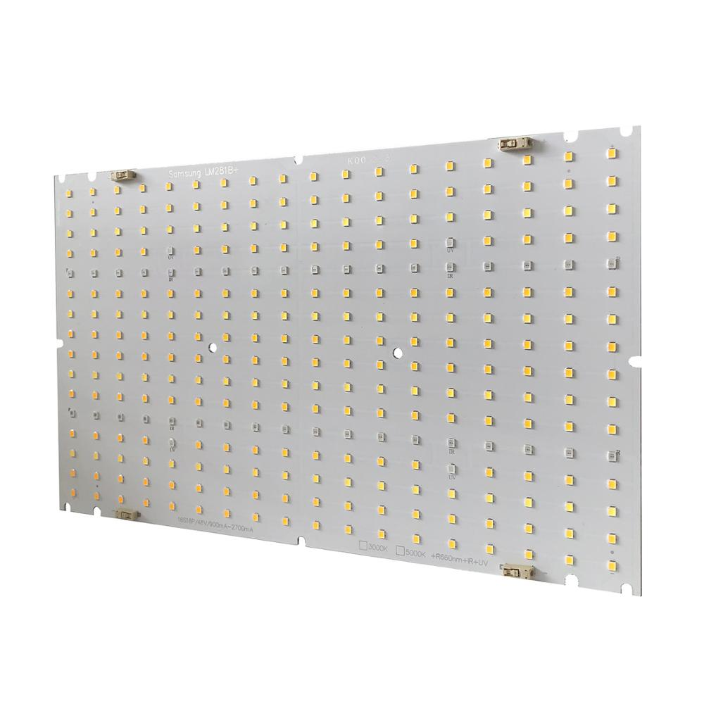 6pcs/Pack Samsung LM281B+ 120W*6  LED Grow Lamp Quantum PCB Board Panel for Horticulture Lighting with 3000K 5000K Red IR UV enlarge