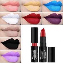 TEAYASON Retro Dark Color Sexy Lipstick Lasting Waterproof 12 Colors Nude Color Matte Non-fading Lip