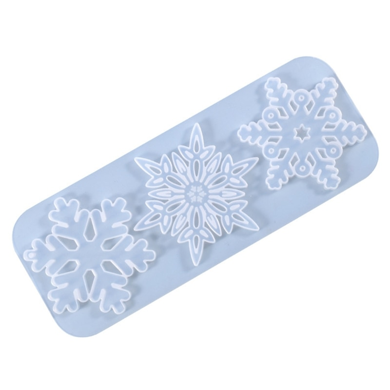 Snowflake Listing Pendant Silicone Mold is Suitable for Resin Epoxy Resin Diy Craft Jewelry Making Home Decoration gemstone jewelry silicone mold is suitable for resin epoxy resin diy craft earrings pendant earrings jewelry making
