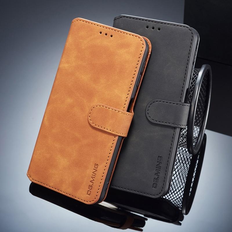 Rétro cuir antichoc étui pour Huawei Y6s étui à rabat 360 Protection portefeuille couverture Funda Huawei Y6 S Y 6 6 S JAT-L41 L29 LX1 L21