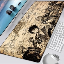 Anime mouse pad gamer carpet notbook computer mousepad One Piece gaming mouse pads gamer keyboard mo