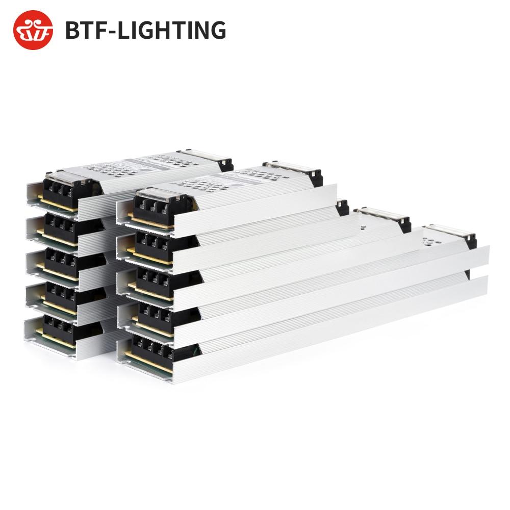 Ultra Thin LED Light Power Supply DC12V 24V 60W 100W 150W 200W 300W Transformer Adapter AC190V 240V