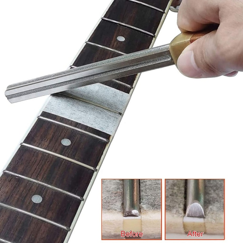 AliExpress - Guitar Fret Crowning File, Fret Edge File, Fret End Rounded Tool, Diamond Coating, Multi-Function Guitar Fret Tools