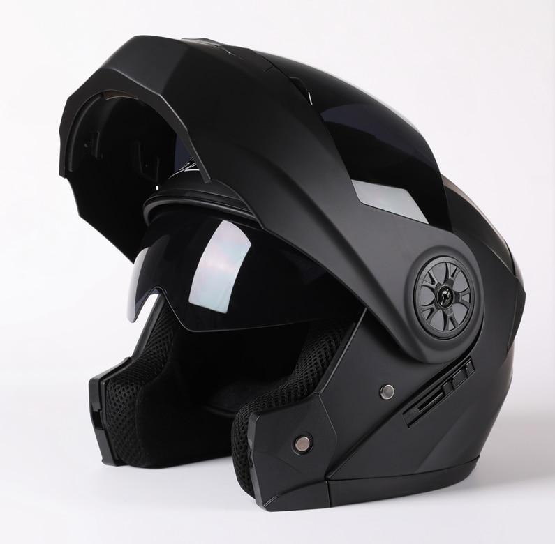 Men Motorcycle Flip Up Safe Helmets Casco Moto Riding ABS Material Helmet DOT Certification Capacete Casque 2020 enlarge