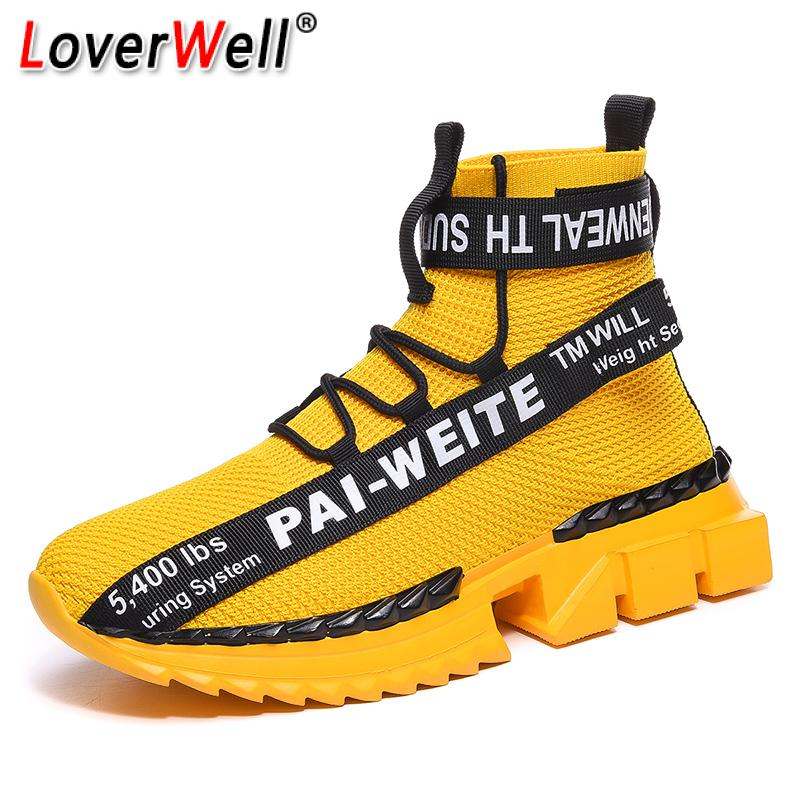 Nuevos zapatos deportivos transpirables para correr para hombre, calzado para correr al aire libre, zapatillas de calcetín livianas para hombre, zapatos de hombre con cordones