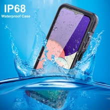 P68 Waterproof Case for Samsung Galaxy A22 5G phone case Water Proof Shell Swim Diving Outdoor Sport