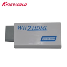 Für Wii zu HDMI Adapter Konverter Unterstützung 720P 1080P 3,5mm Audio Für W-II 2 HDMI