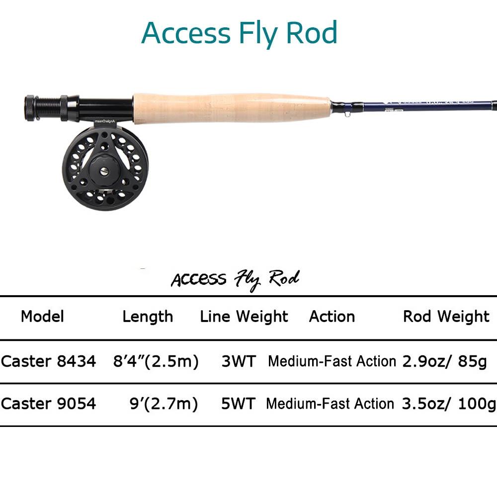 pesca e voar linha de pesca combo & tippet livre